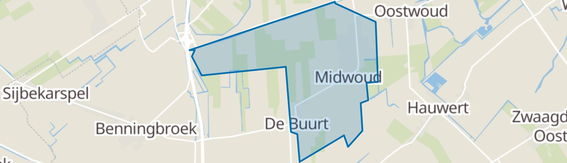 Midwoud map