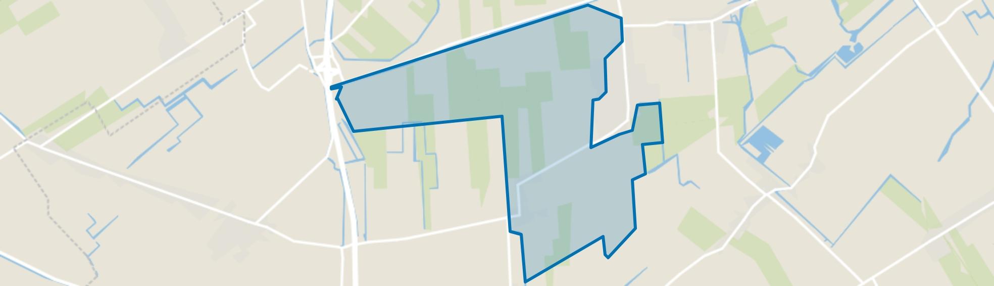 Midwoud Buitengebied, Midwoud map
