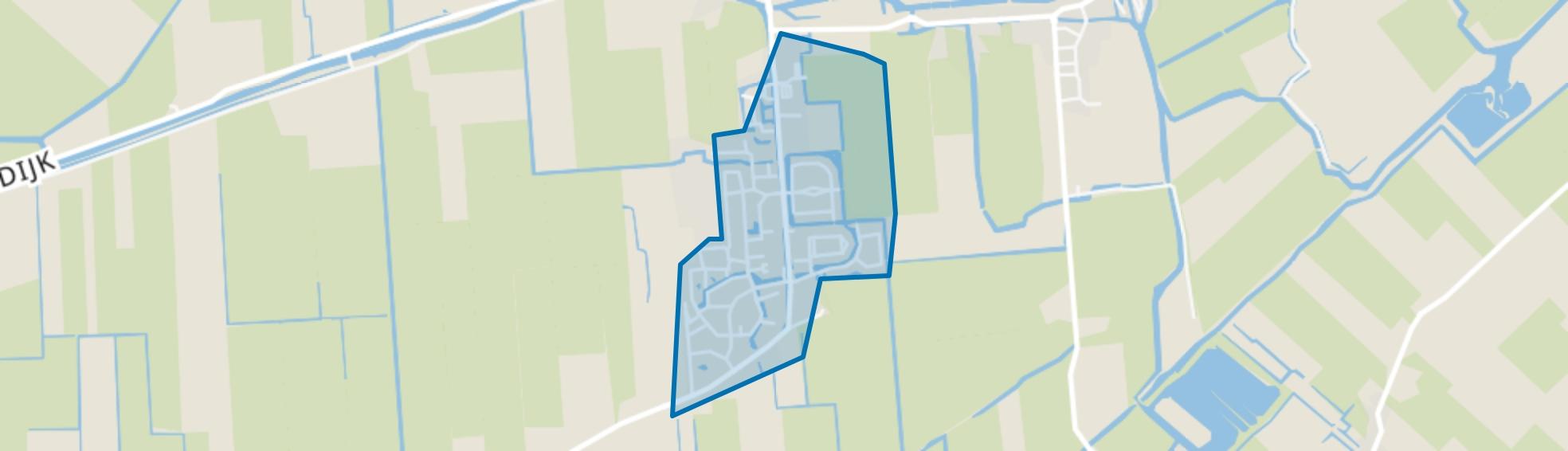 Midwoud Centrum, Midwoud map