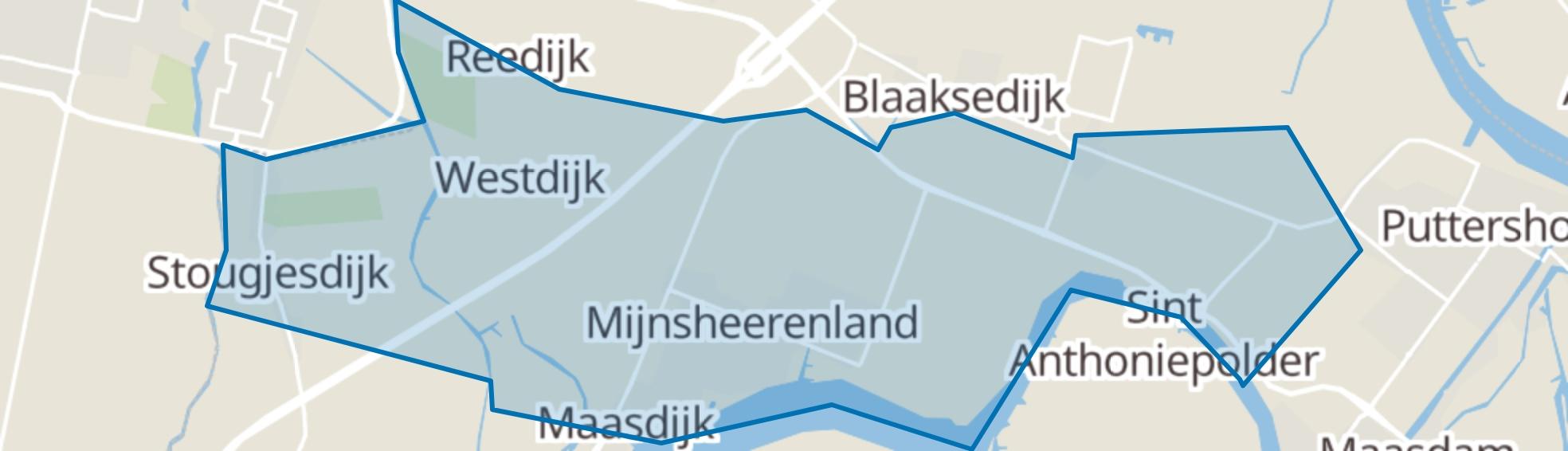 Mijnsheerenland map