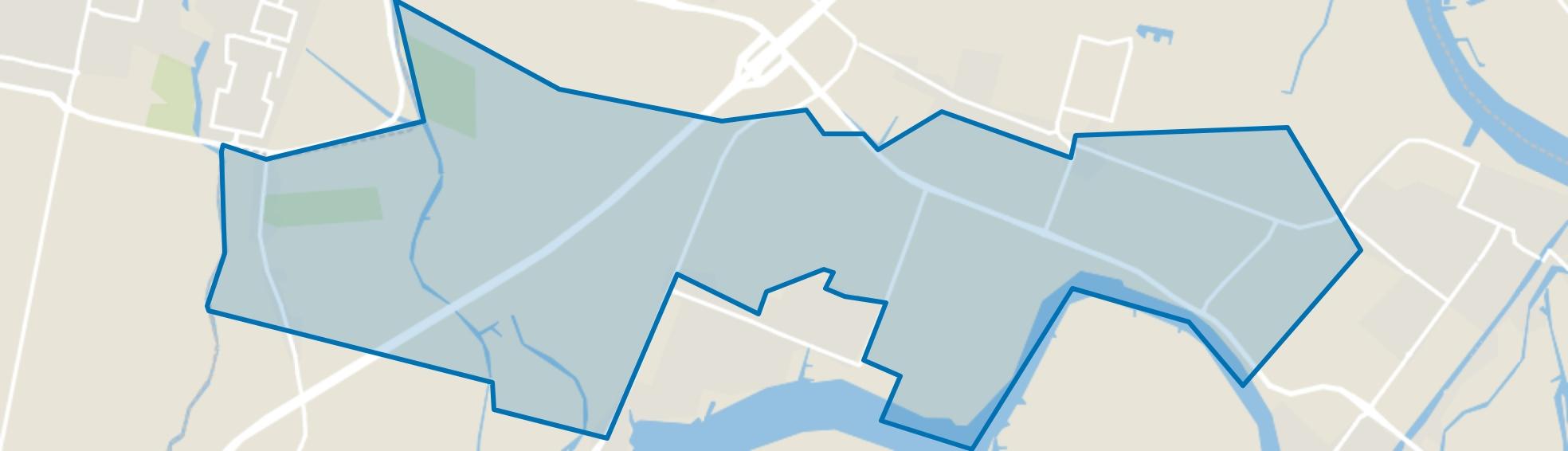 Mijnsheerenland Buitengebied, Mijnsheerenland map