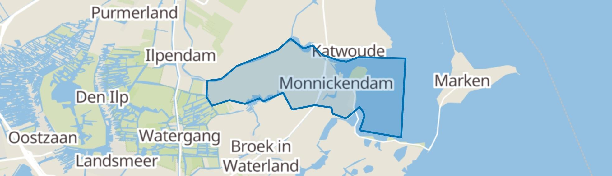 Monnickendam map
