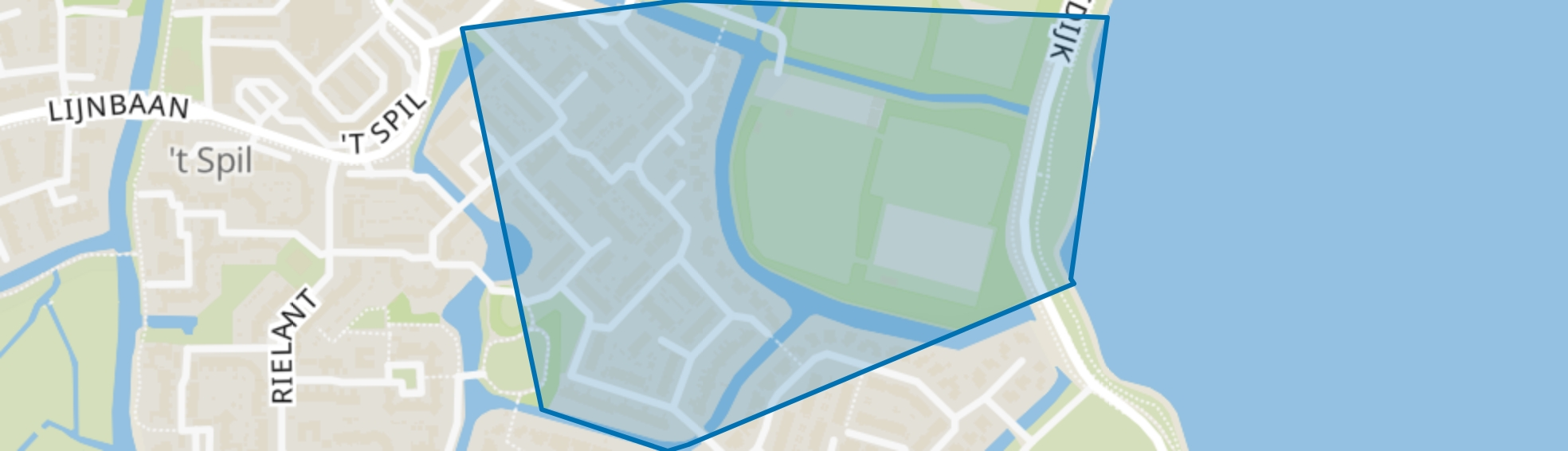 Binnengouw, Monnickendam map