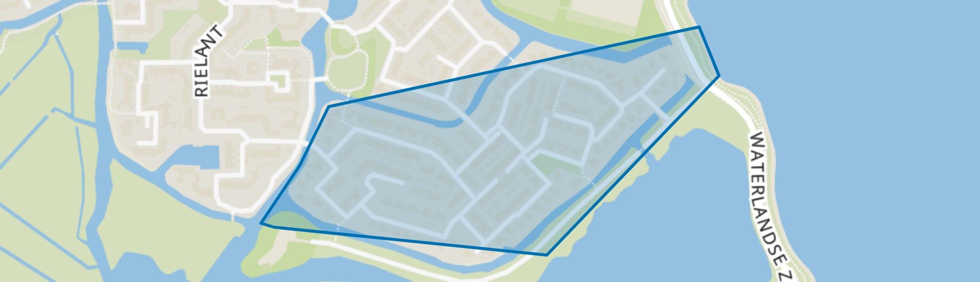 Buitengouw, Monnickendam map