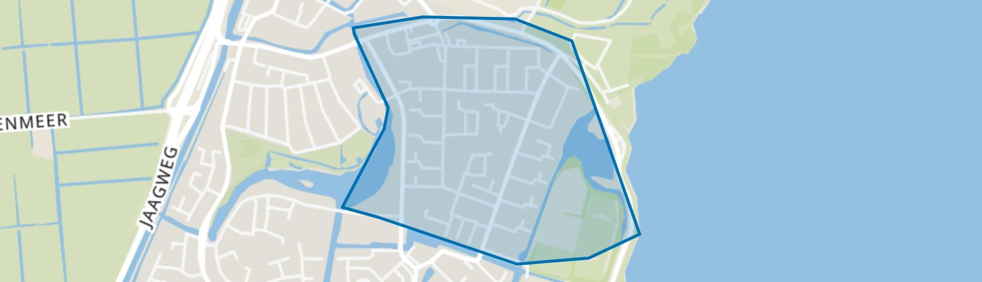 Markgouw, Monnickendam map