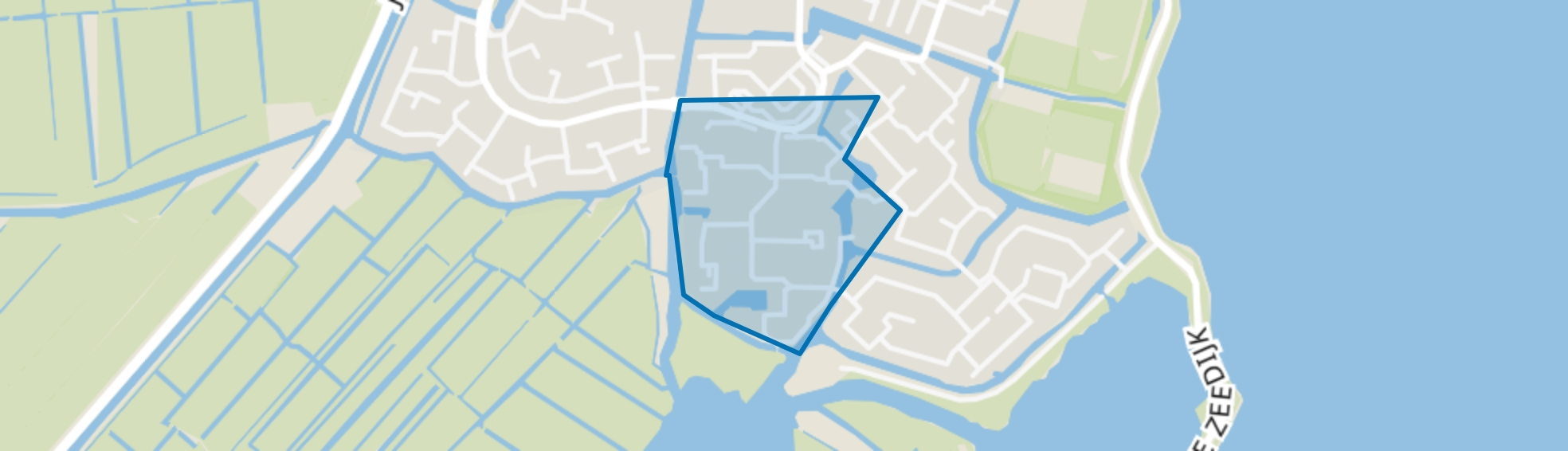Ooster Ee, Monnickendam map