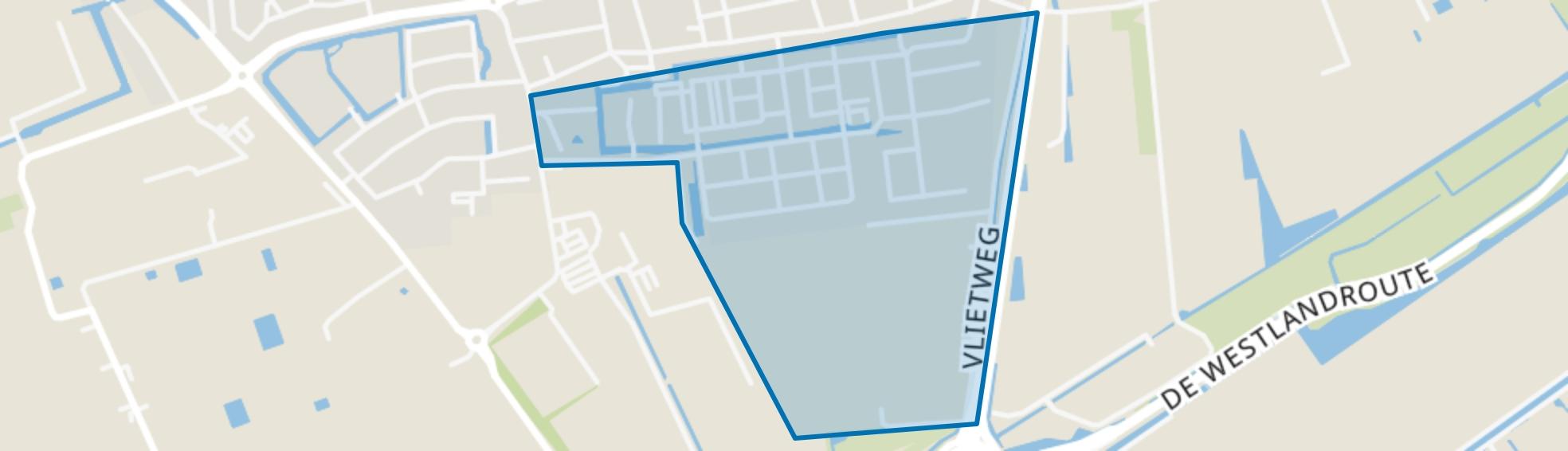 Hoogeland Oost, Naaldwijk map