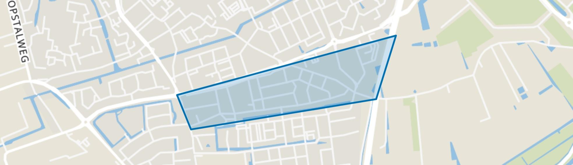 Kruisbroek, Naaldwijk map