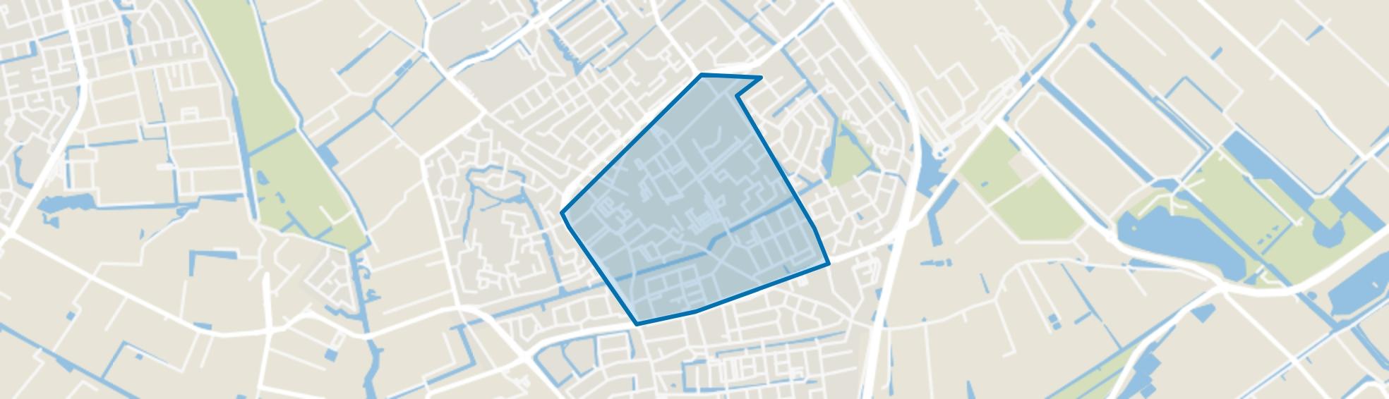 Naaldwijk Centrumgebied, Naaldwijk map