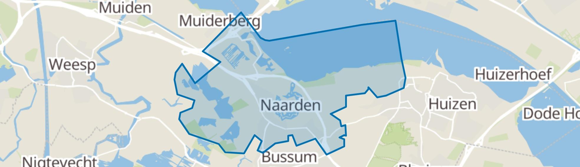 Naarden map