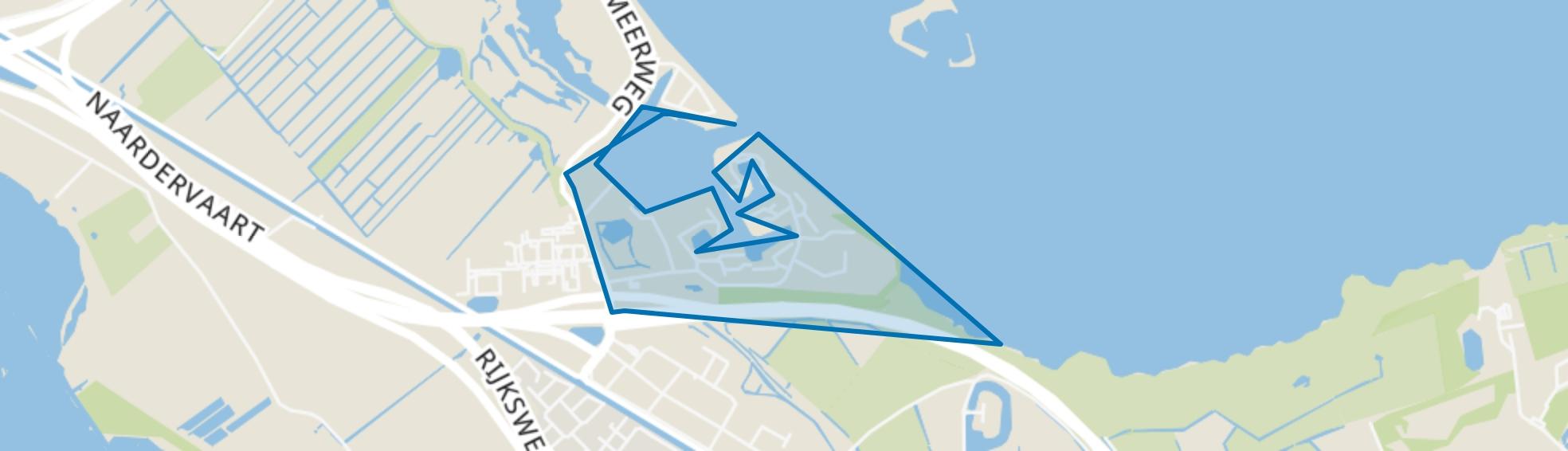 Naarderwoonbos, Naarden map