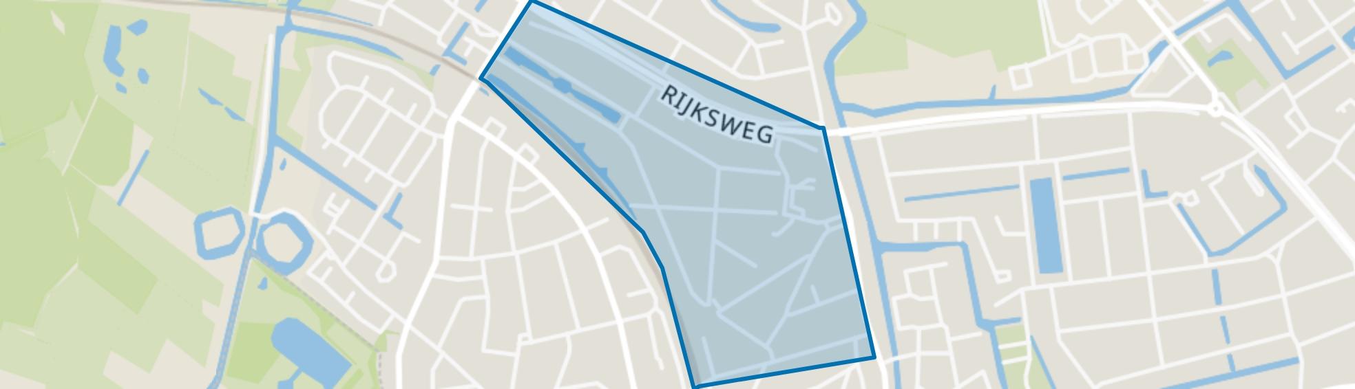 Oranje Nassaupark-Zuid, Naarden map