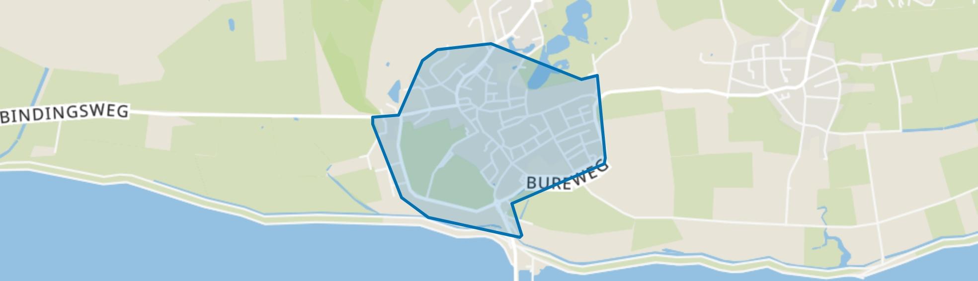 Nes, Nes (Gem. Ameland) map