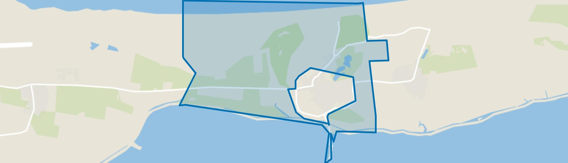Verspreide huizen Nes, Nes (Gem. Ameland) map