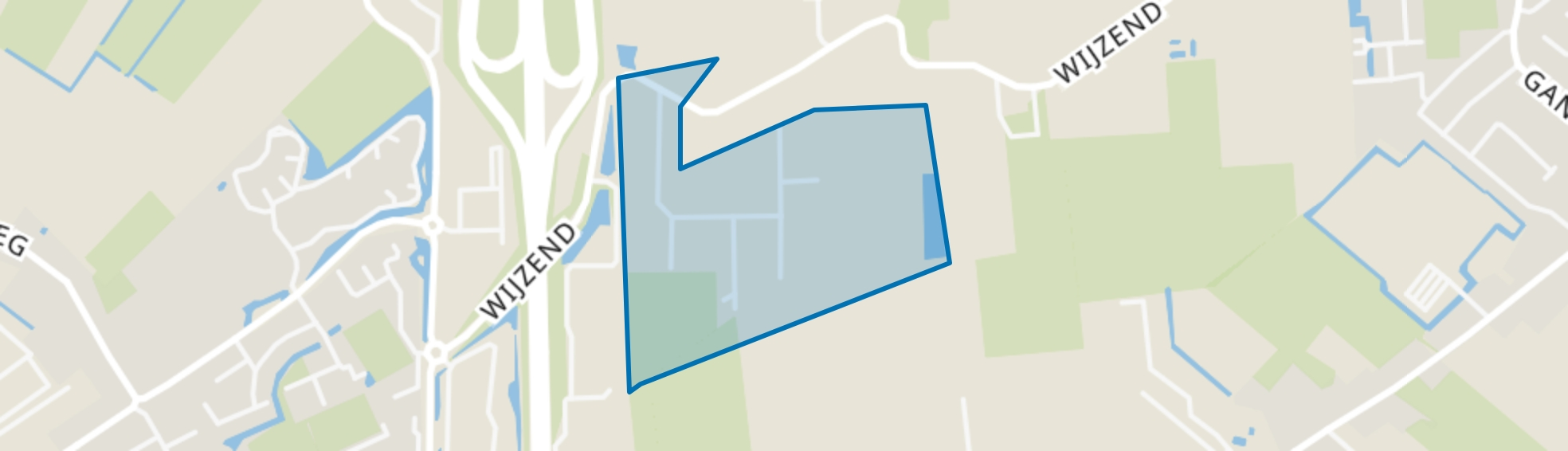 Nibbixwoud Bedrijventerrein, Nibbixwoud map