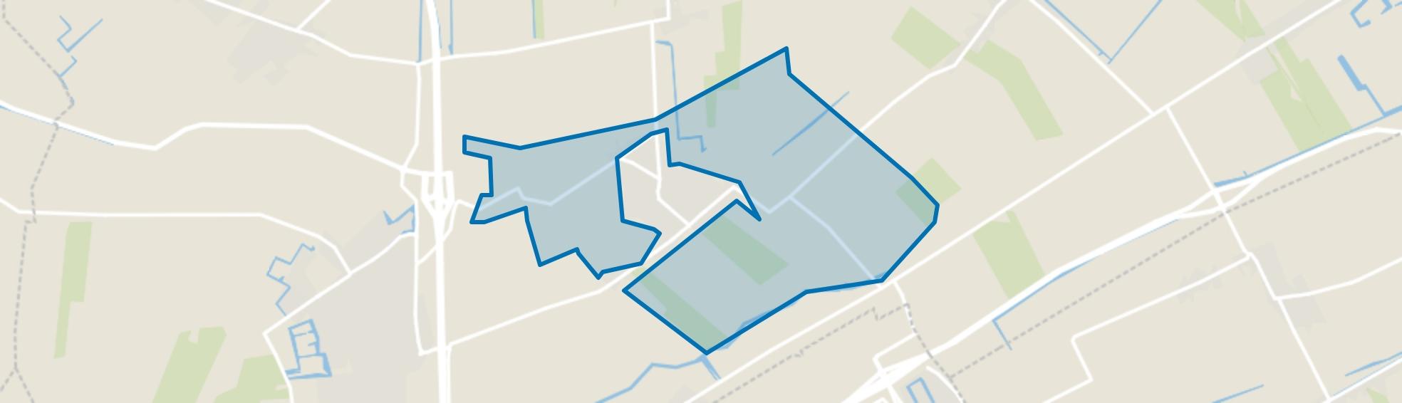 Nibbixwoud Buitengebied, Nibbixwoud map