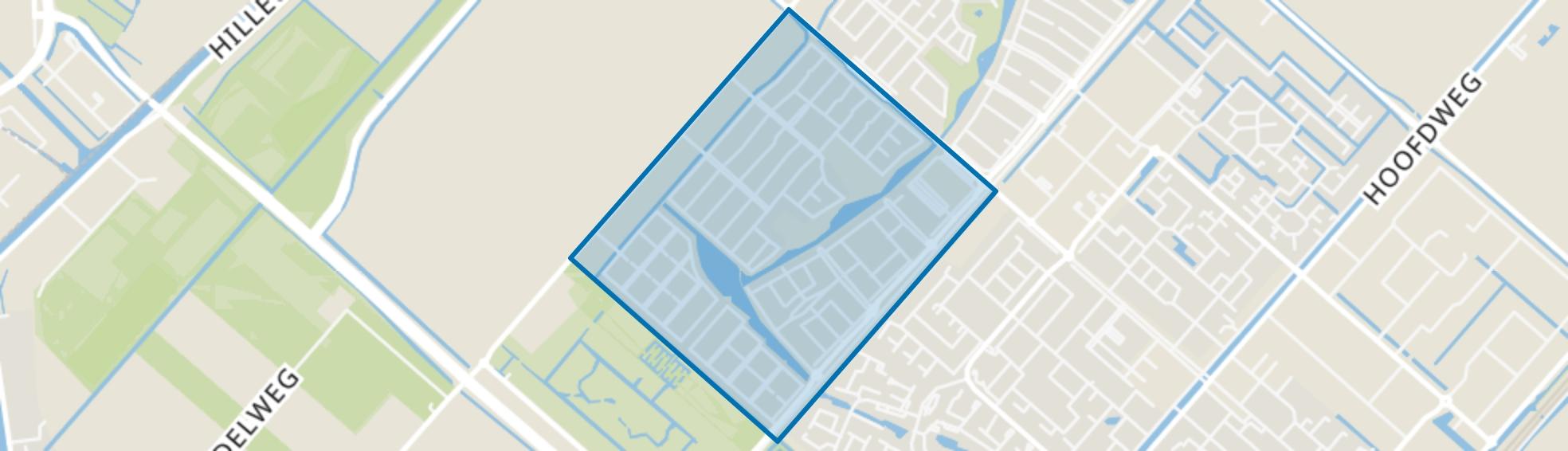 Nieuw-Vennep Getsewoud Zuid, Nieuw-Vennep map
