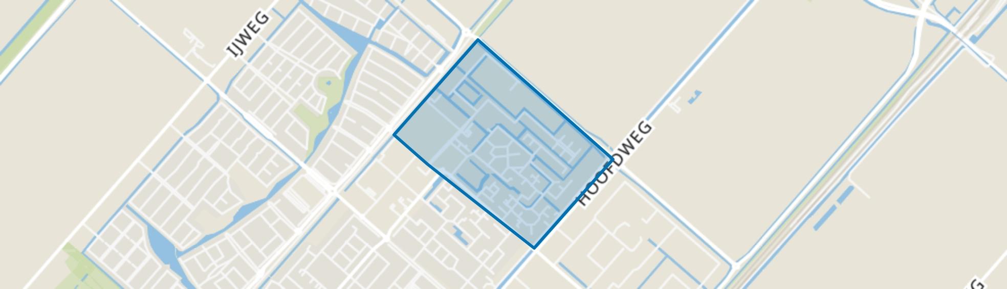 Nieuw-Vennep Welgelegen Noord, Nieuw-Vennep map