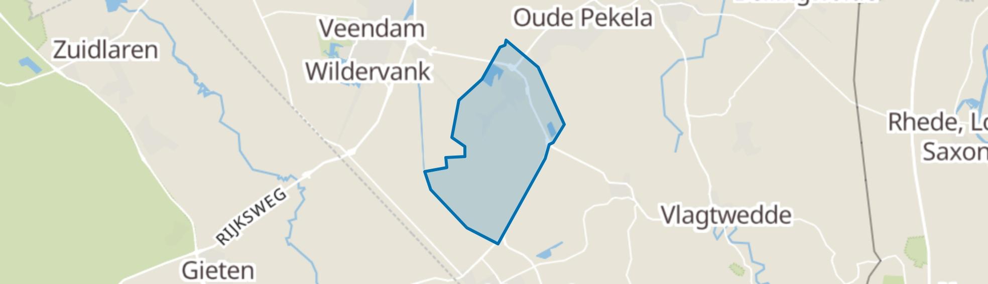 Nieuwe Pekela map
