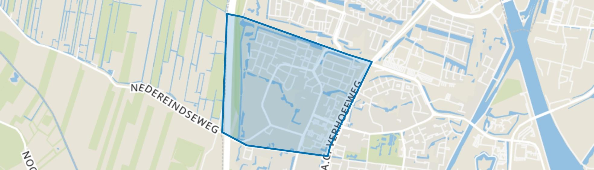 Batau Noord, Nieuwegein map