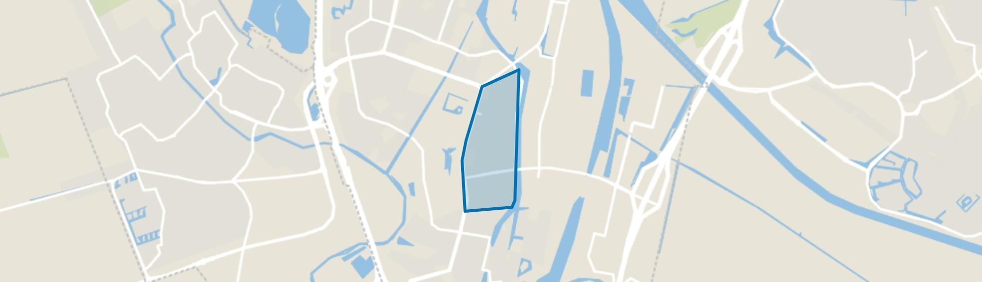 Fokkesteeg, Nieuwegein map