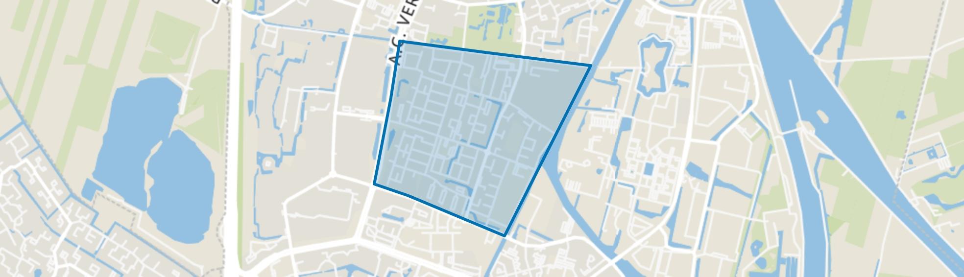 Jutphaas Wijkersloot, Nieuwegein map