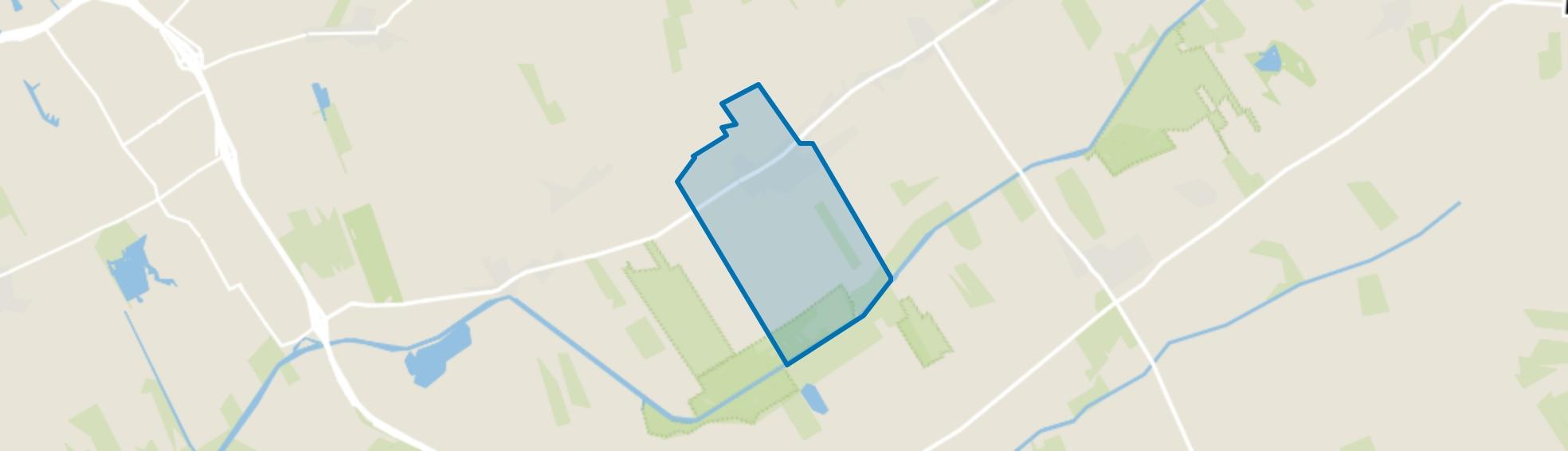 Nieuwehorne, Nieuwehorne map