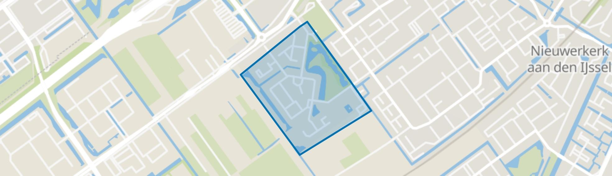Parkzoom, Nieuwerkerk aan den IJssel map