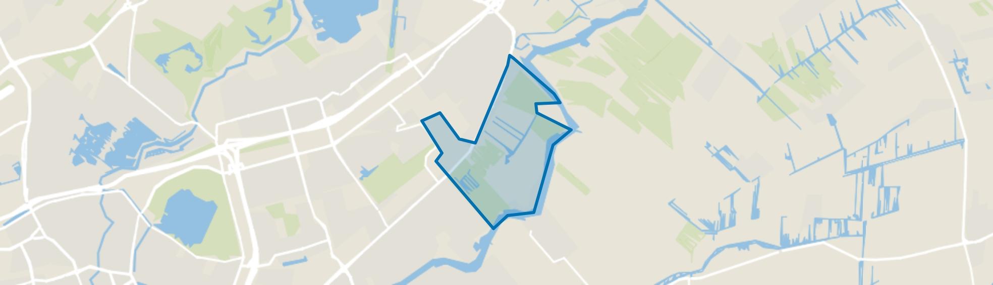 Verspreide bebouwing Essepolder, Nieuwerkerk aan den IJssel map