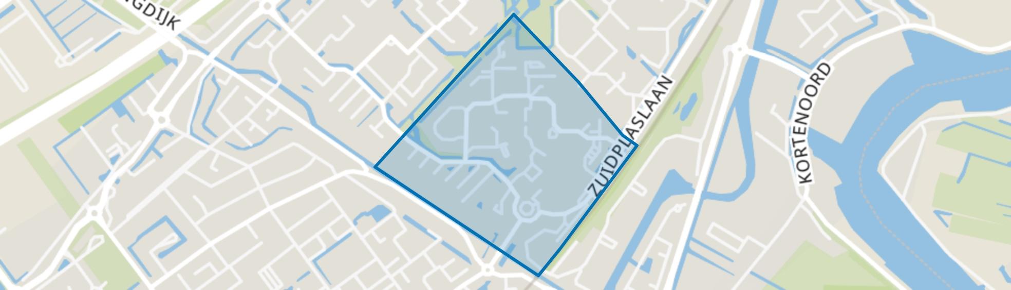 Zuidplas Dalen, Nieuwerkerk aan den IJssel map