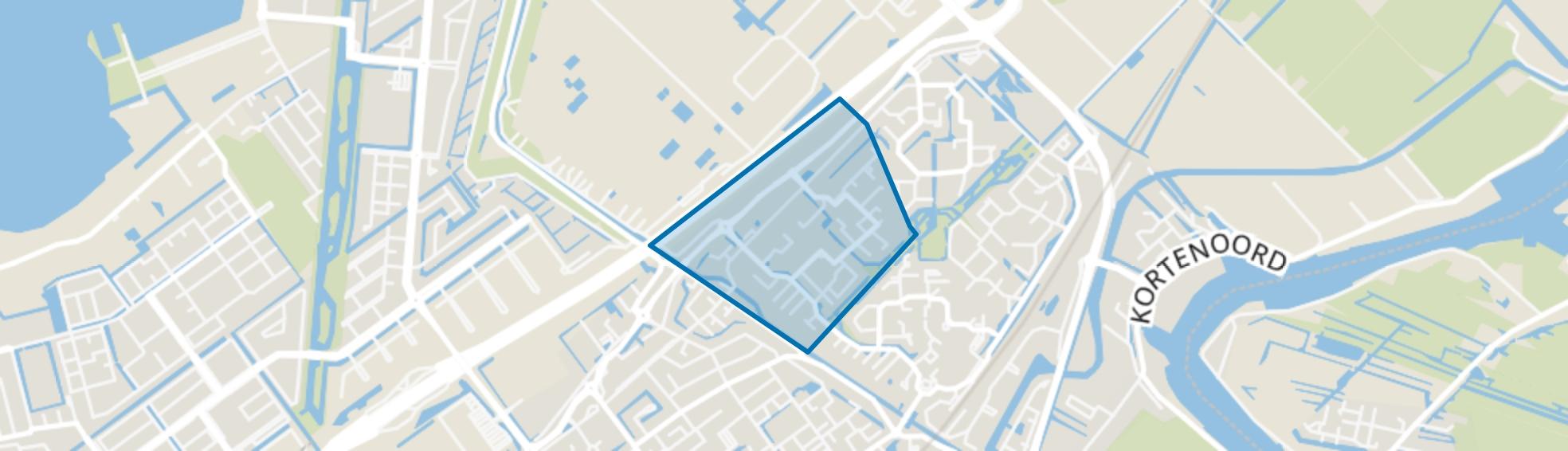Zuidplas Mossen, Nieuwerkerk aan den IJssel map