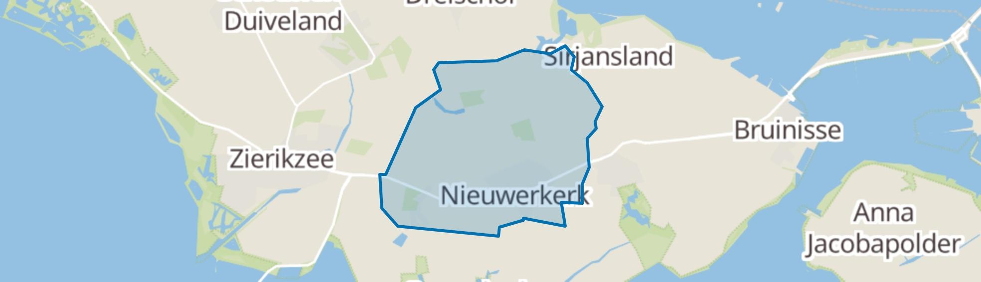 Nieuwerkerk map