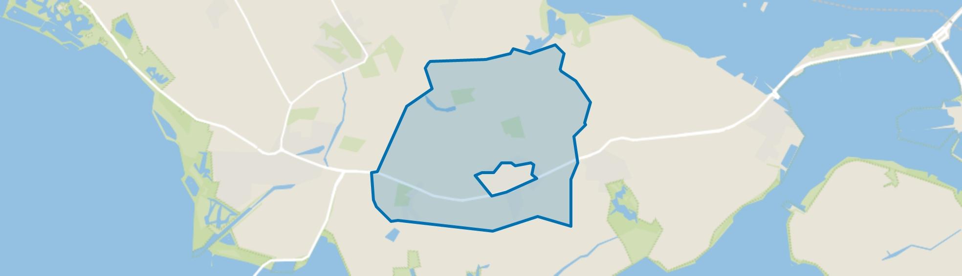 Verspreide huizen Nieuwerkerk, Nieuwerkerk map
