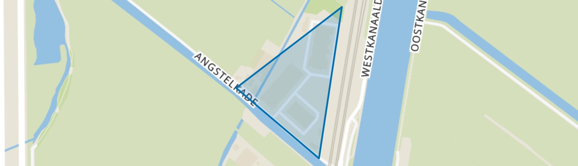Angstelkade, Nieuwersluis map