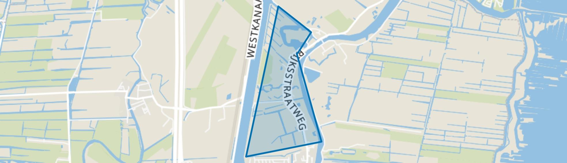 Polder Het Honderd, Nieuwersluis map