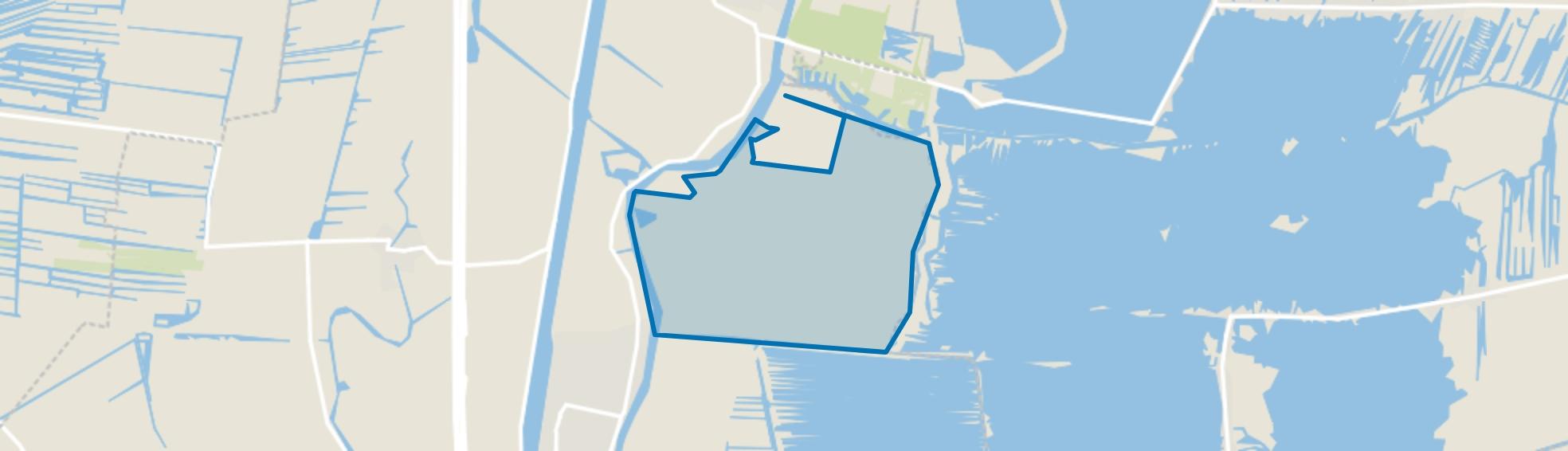 Polder Mijnden, Nieuwersluis map