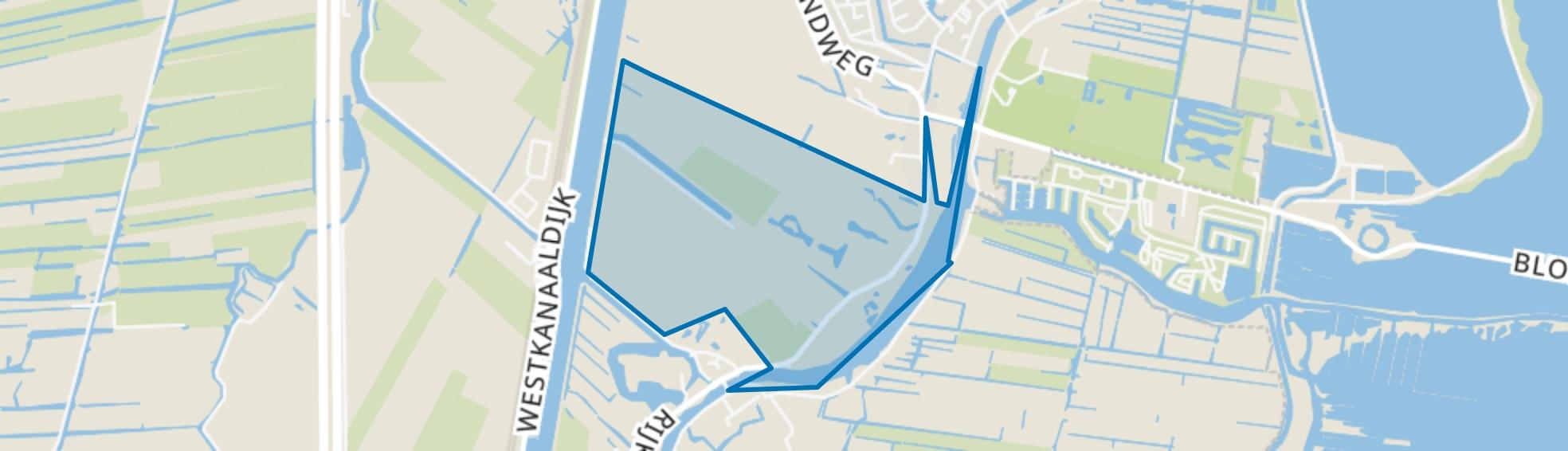 Polder Sticht, Nieuwersluis map