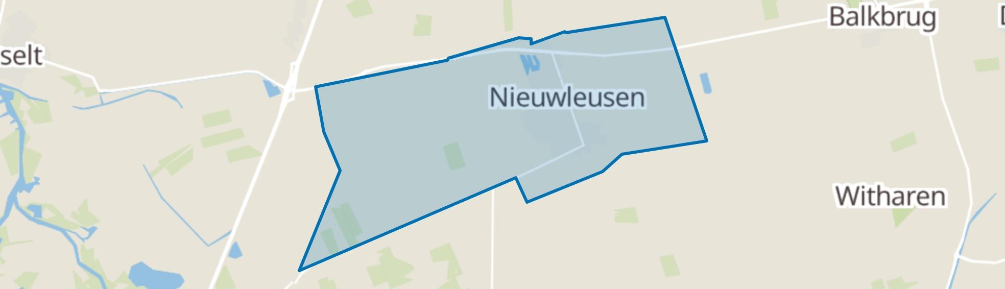 Nieuwleusen map