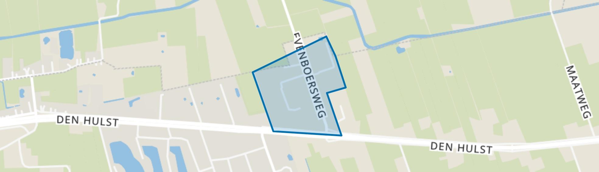 Bedrijventerrein De Evenboer, Nieuwleusen map