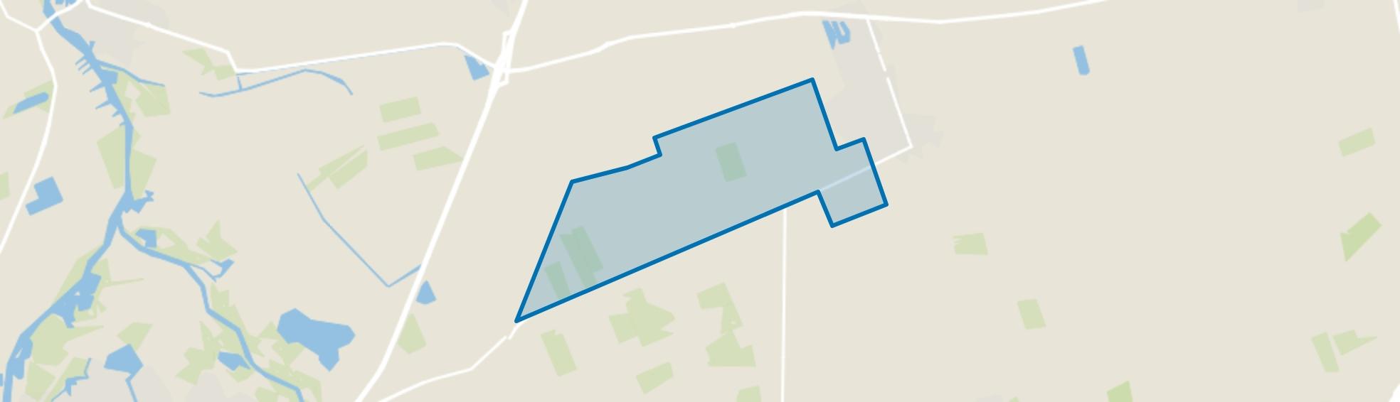 Verspreide huizen Ruitenveen, Nieuwleusen map
