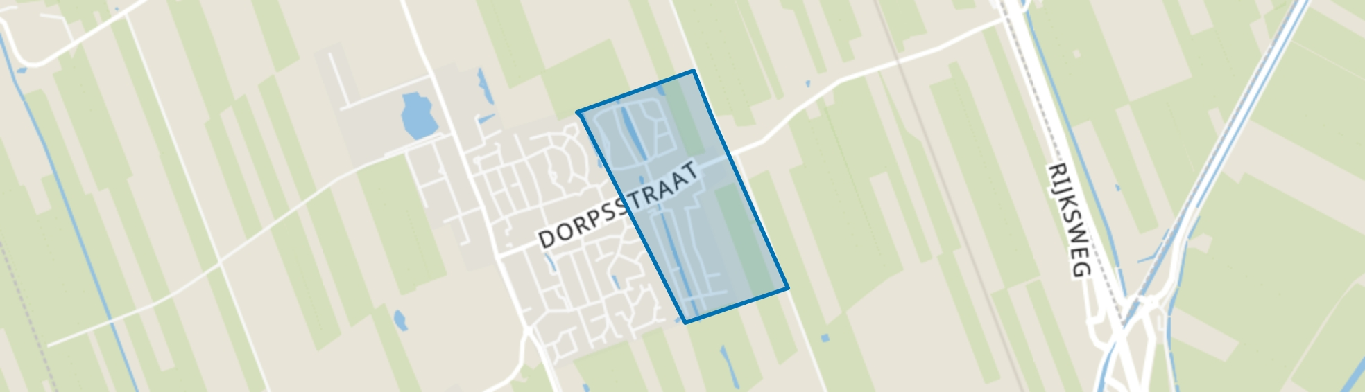 Danninge Erve, Nijeveen map