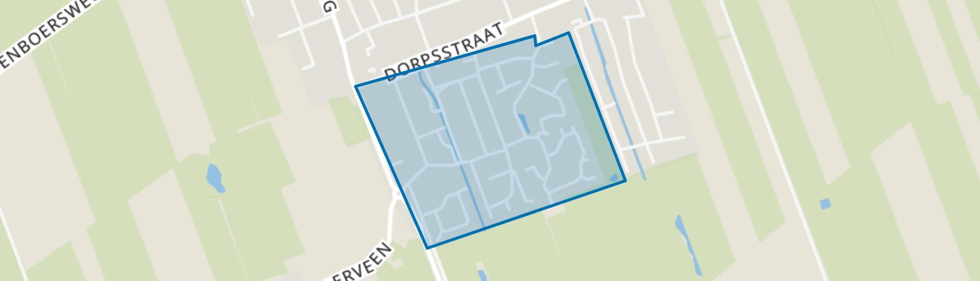 Griftebuurt, Nijeveen map