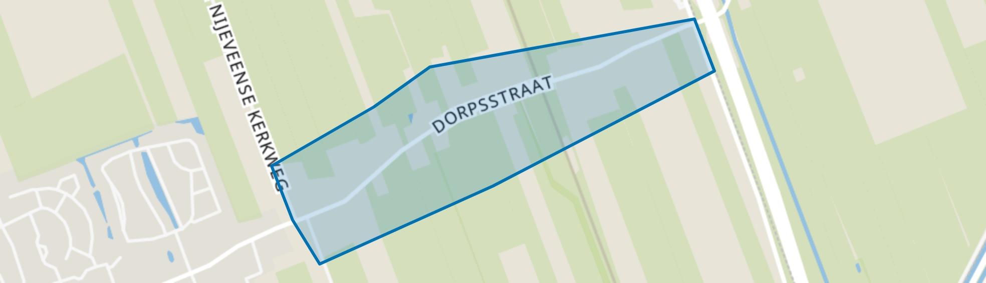 Nijeveen Oost, Nijeveen map