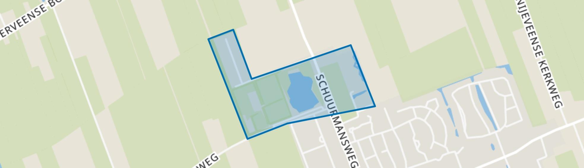 Tussenboerslanden, Nijeveen map
