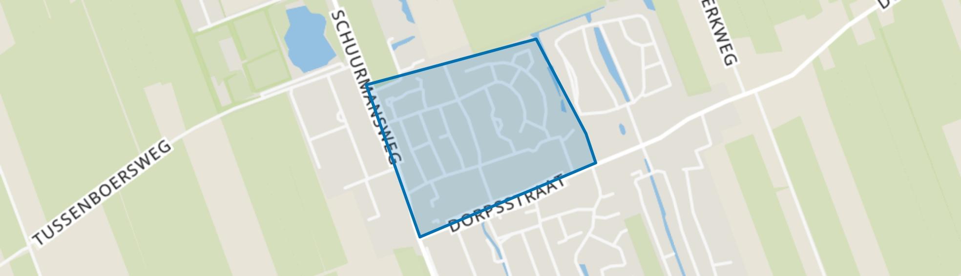 Vogelbuurt, Nijeveen map