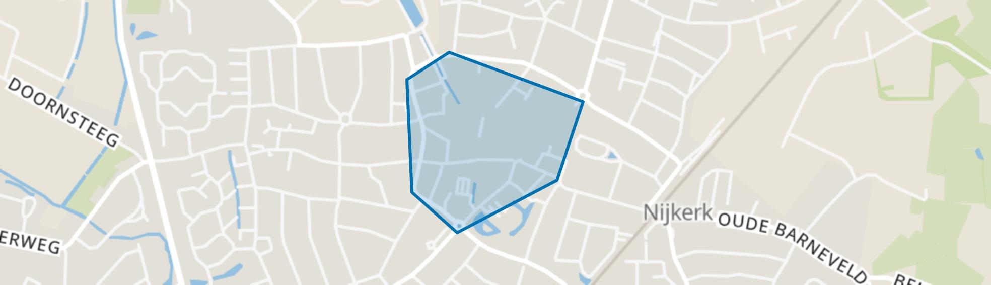 Centrum, Nijkerk map