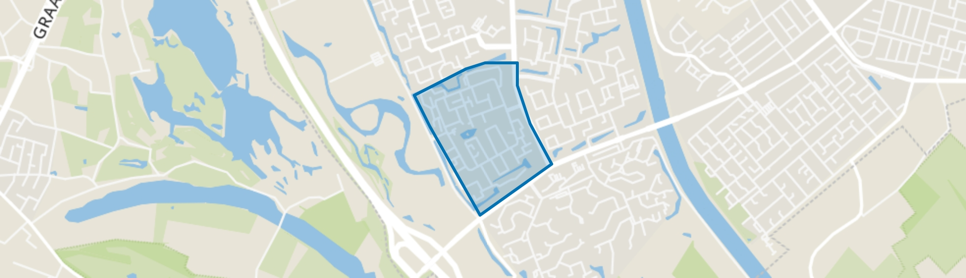 Aldenhof, Nijmegen map