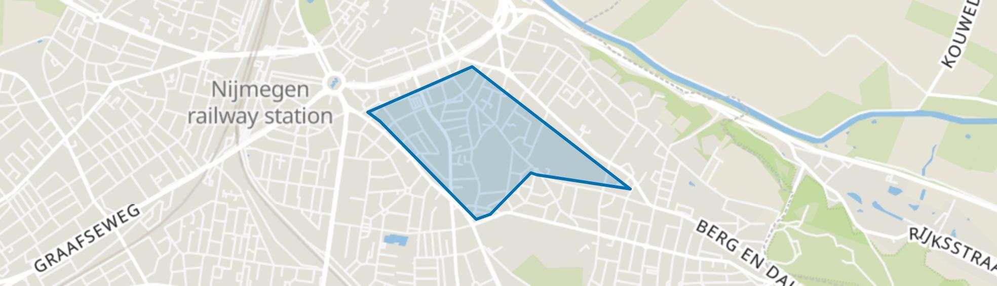 Altrade, Nijmegen map