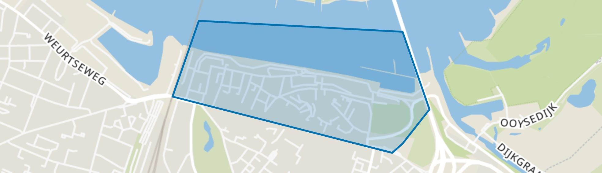 Benedenstad, Nijmegen map