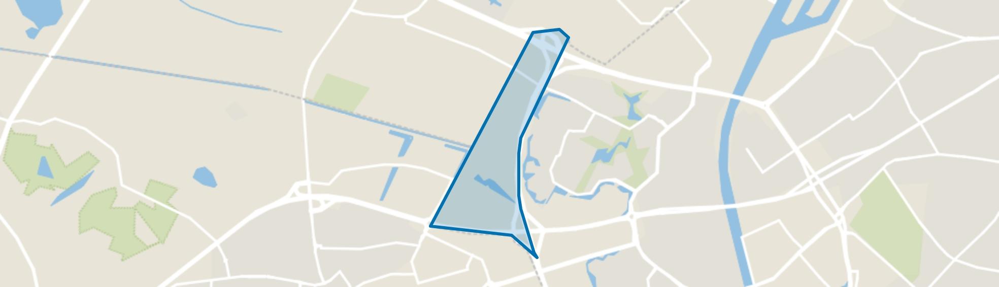 Bijsterhuizen, Nijmegen map
